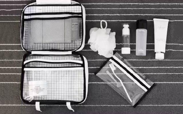 环保防水材质的洗漱包,外出旅行必备利器 — imblu 杜邦纸2.0系列洗漱包评测 | 视频