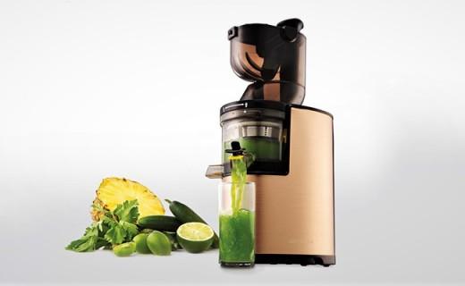 乐扣乐扣eyzj-800原汁机:整个水果直接榨,健康果汁全家喝