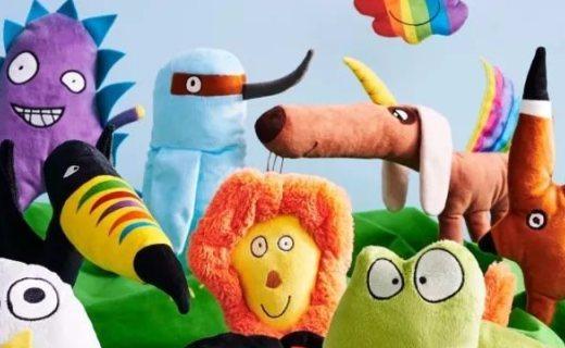 宜家新的索古斯卡限量系列将发布,设计师为儿童