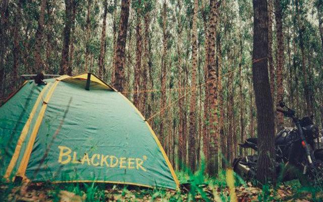 轻便易搭建,带上家人去露营,黑鹿户外露营帐篷体验