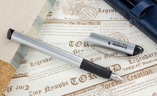 施耐德钢笔:获德国IF设计大奖,笔杆一体成型精细工艺