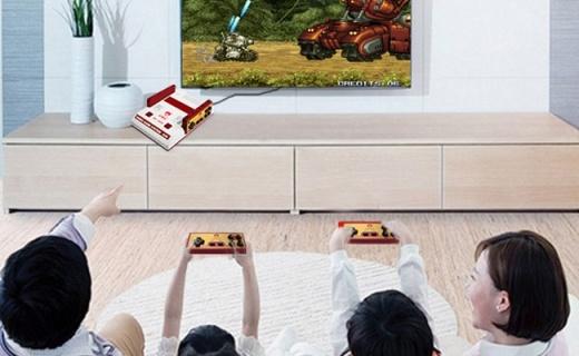 小霸王G36游戏主机:30周年纪念款,畅玩上千款经典游戏