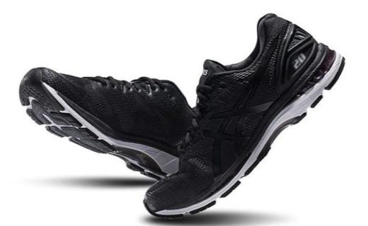 亚瑟士GEL-NIMBUS 20跑鞋:网孔材质透气耐磨,全新缓震科技