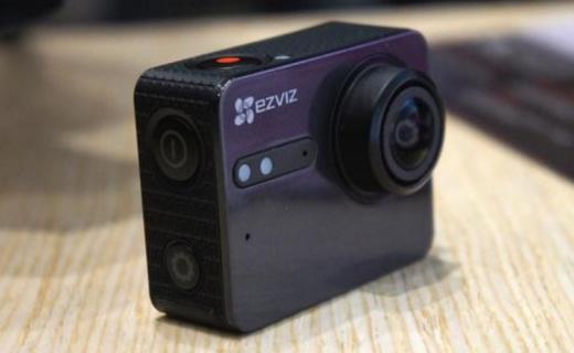 萤石S5运动相机:4K超清拍摄10米防水,APP远程拍摄更方便