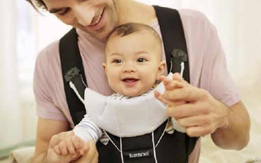 瑞典BabyBjorn婴儿背带,宝宝舒服爸妈省劲,国内不到半价售