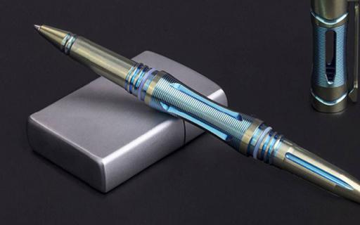 能防身颜值又出众的战术笔,连瓦片都能碎 — Fenix T5Ti 钛合金战术笔评测