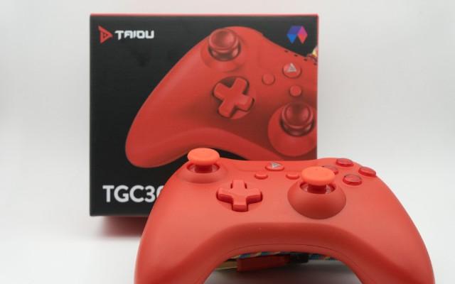 颜值手感与游戏体验的完美结合,钛度原力之星游戏手柄上手体验