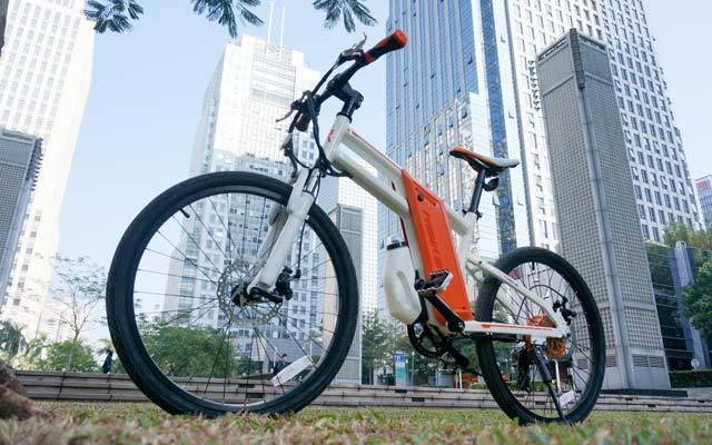 骑达R5L电助力自行车
