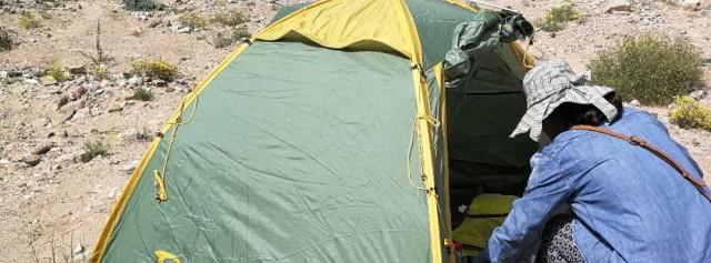 户外出行休息娱乐最佳搭档,黑鹿鹿小友双人帐篷体验
