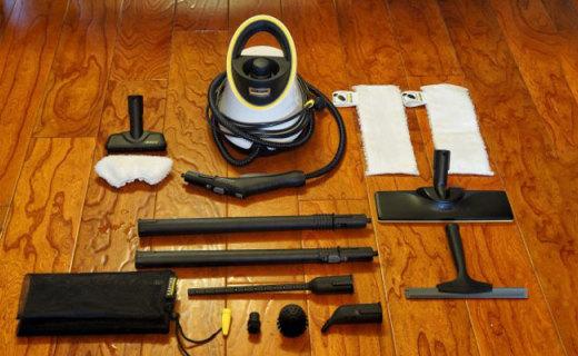 轻松化解各种油污霉斑水垢,好用不贵,家庭必备神器 — 卡赫SC 2高温蒸汽机评测