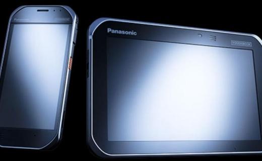 双子新品:松下同时发布同款耐用型手机与平板电脑