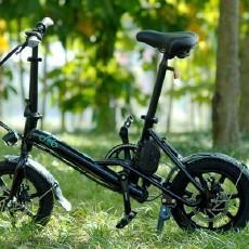 续航持久易折叠,通勤刷街无压力,FIIDO 电动自行车评测