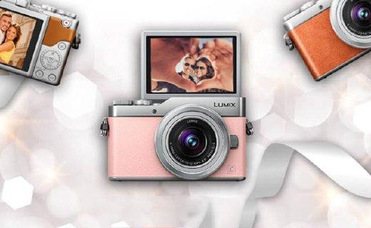 松下数码相机:4K高清玩转美颜自拍,精致小巧轻松携带
