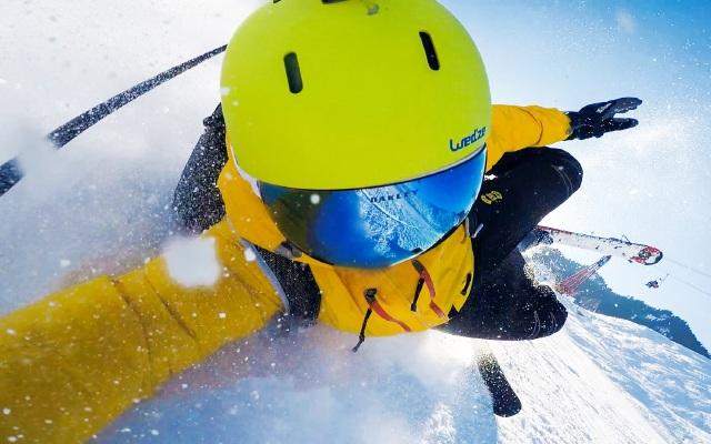 """远离""""雪盲""""!Oakley无框雪镜让我用飞行员的视野去滑雪"""