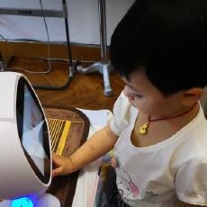 语音互动 陪伴孩子的良师益友,乐源小乐智能教育机器人体验