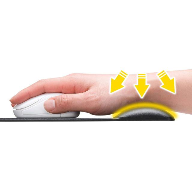 山业(SANWASUPPLY)人体工学腕托鼠标垫