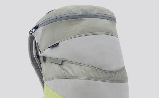北风之神尼塔款背包 :外部防雨涂层,生理曲线背板,兼容饮水系统