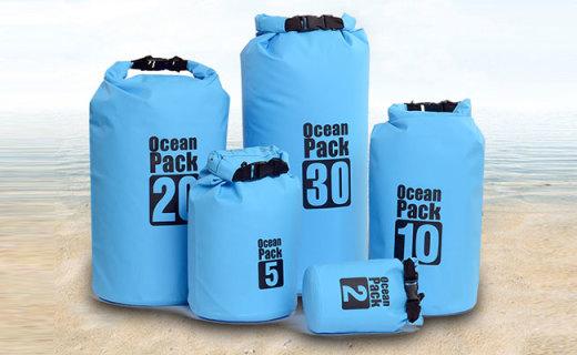 Wind Tour户外收纳袋:防水耐磨PVC网布,轻松应对涉水环境