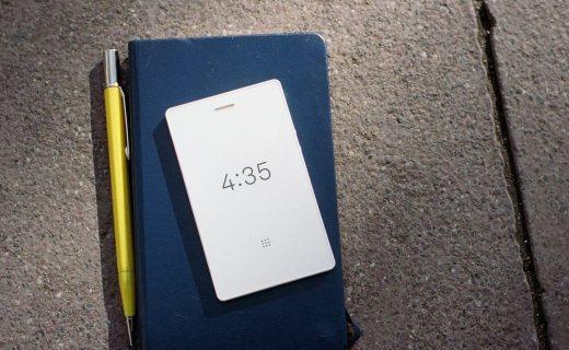 史上最禁欲手机!啥功能都没有却比iPhone X还酷,火遍欧美朋友圈