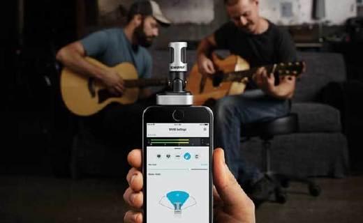 舒尔MV88手机麦克风:声音录制更精准,苹果MIFI认证