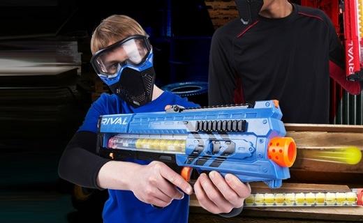 Hasbro热火宙斯玩具枪:安全无毒泡沫子弹,刺激好玩还安全