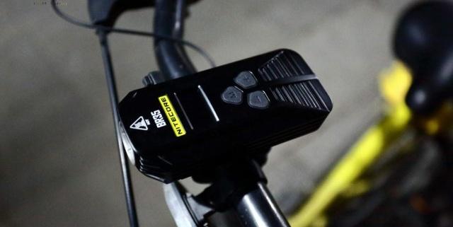 远近双灯源 无盲区照射,让外出骑行更安全 — NITECORE奈特科尔BR35骑行灯体验