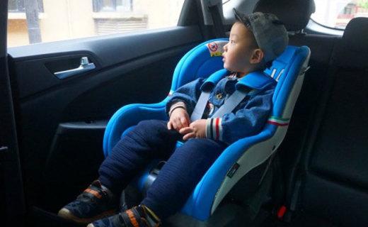 专业保护 自由调节,让车里的孩子安全无忧 — 狮子王儿童车用安全座椅测评   视频