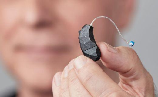听障人士的高科技工具,这款助听器设计时尚还支持模块化