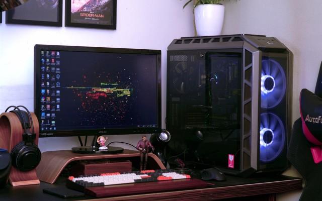 灯光炫酷,酷冷至尊冰神G360RGB水冷散热器装机体验