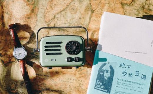 有颜值有音质有内涵,猫王旅行者就是一台完美的智能收音机