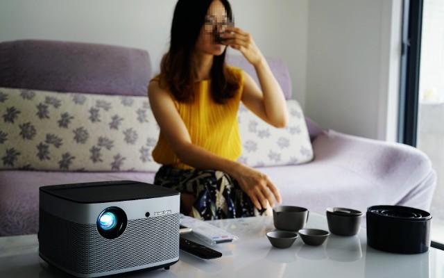 极米无屏电视H2体验,在家开启影院级视听模式