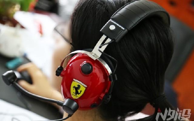 那一抹紅——法拉利耳機開箱