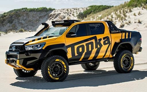 史上最耐操的皮卡竟然出了个玩具款,Jeep悍马都靠边站