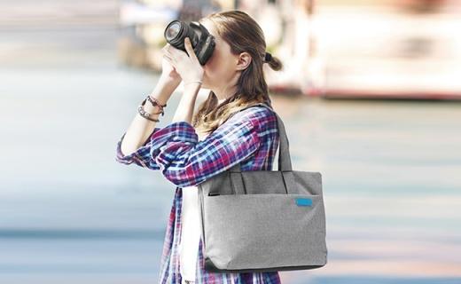 Elecom DGB-S030单肩摄影包:全包围式内胆抗震防摔,防水面料