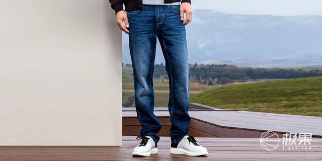 斯莱德(Selected)男士纯棉水洗牛仔裤