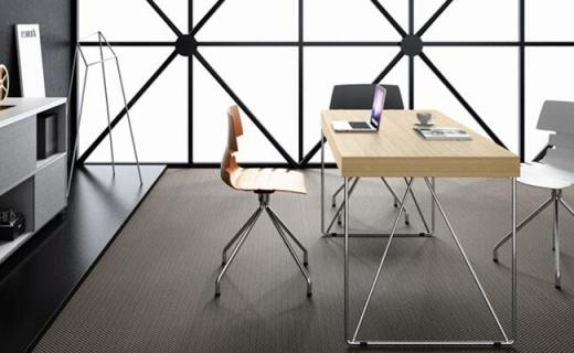 大宇ED10办公桌:电镀抛光颜值高,四人办公足够用