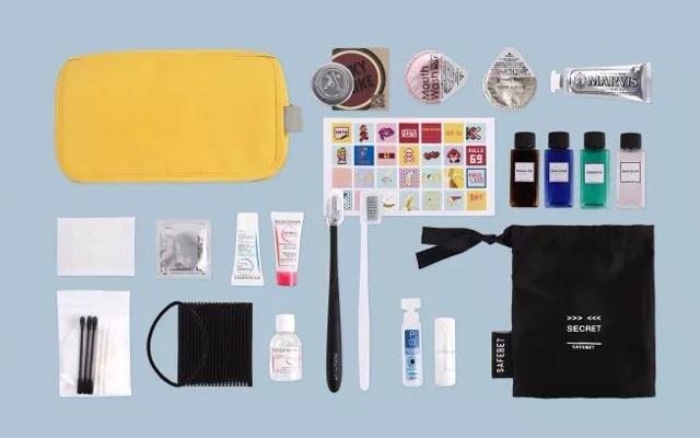 """春节旅行何必大包小包,一个洗漱包就能玩出一个""""移动化妆间"""""""