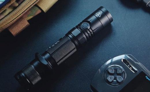 奈特科尔 P12GTS 战术手电评测,随身携带的小太阳