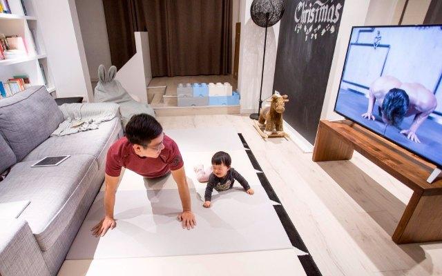 80%家庭都想要的4K电视, 能观影能健身轻松满足全家人