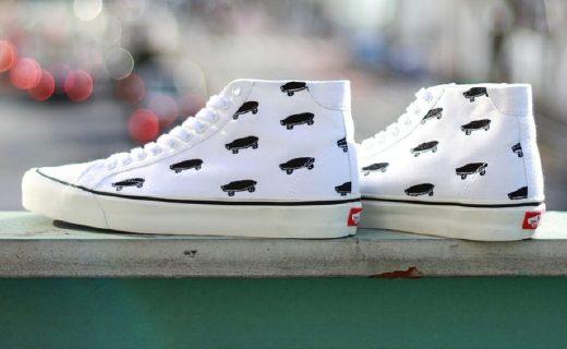Vans联手Journal Standard,小白鞋再度来袭