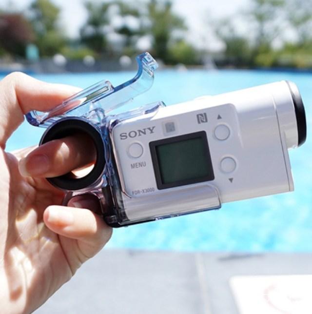 索尼(SONY)FDR-X3000运动摄像机