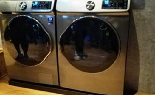 三星智能洗衣机亮相,洗衣速度提升35%