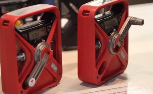 伊顿FRX3急救收音机:手摇式发电方式,操作简单急救专用