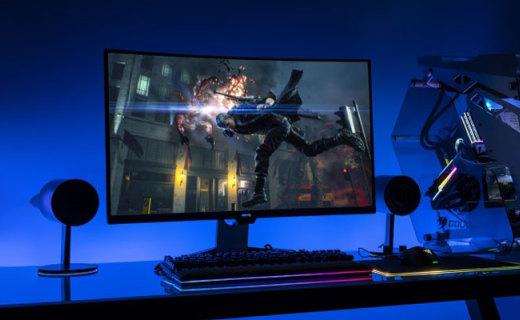 明基 EX3203R 显示器体验,高刷新率让你流畅吃鸡卡顿