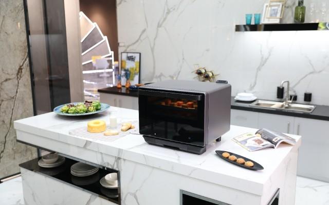 带烧烤转叉的台式蒸烤箱——凯度R8使用测评!