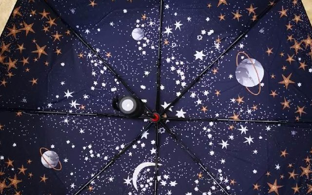 GOC IN C智能小黑伞把最美的星空握在手中