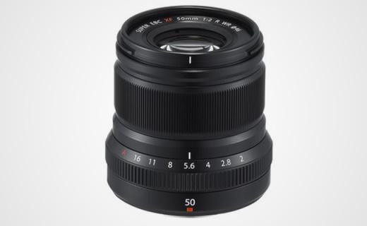 富士新标头,XF 50mm F2,小巧精致素质高