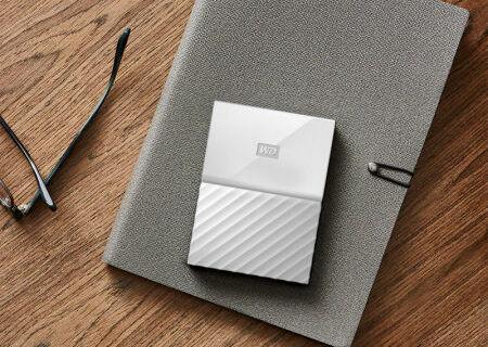 西部数据4TB移动硬盘:轻薄小巧大容量,自带加密更安全