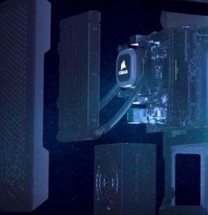 海盗船紧凑型台式电脑亮相CES!搭配酷睿i9处理器!