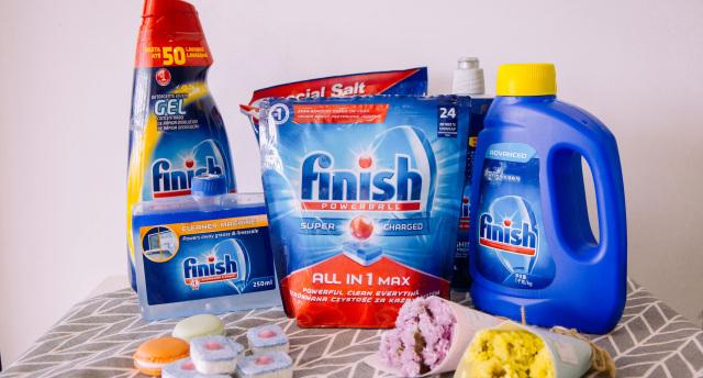 拯救奶爸好帮手,Finish洗碗机专用套装体验